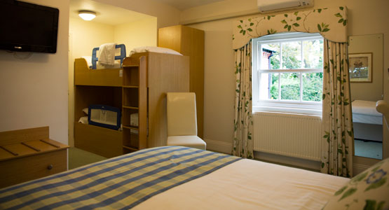 Bartley Lodge - bedrooms