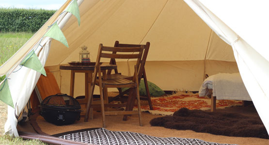 Meadow View Bell Tents - near Peppa Pig World
