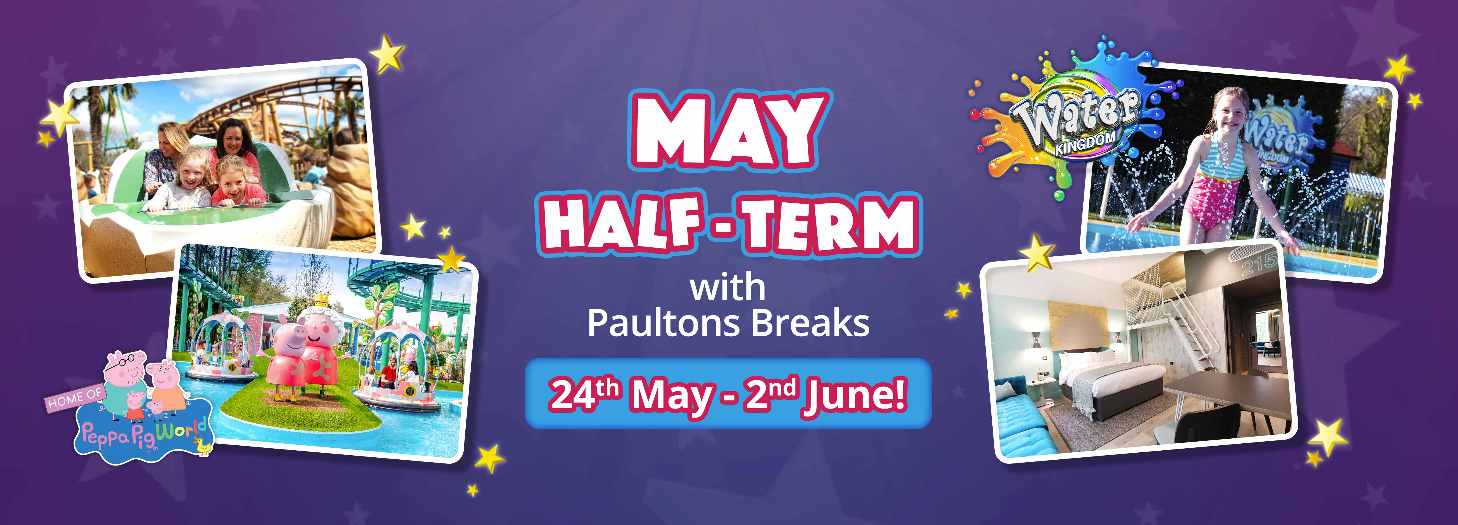 May Half Term Paultons Breaks