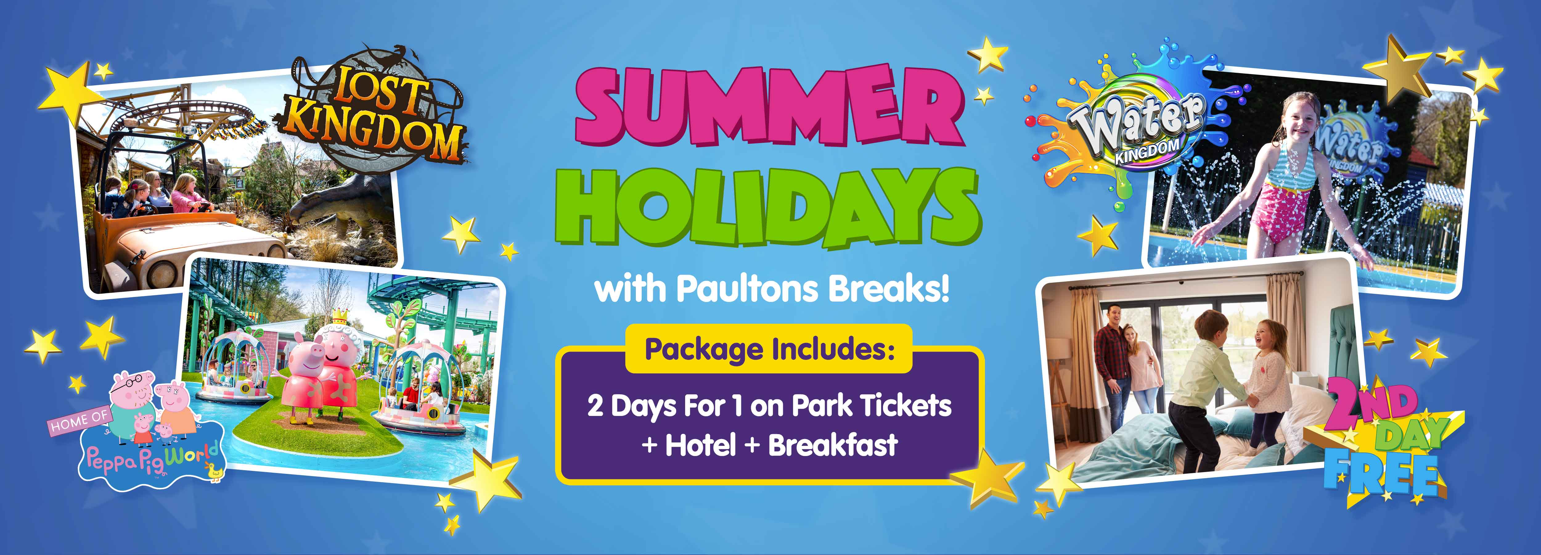 Summer holidays with Paultons Breaks